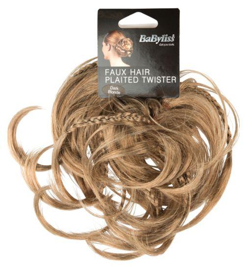 Babyliss faux hair twister dark blonde