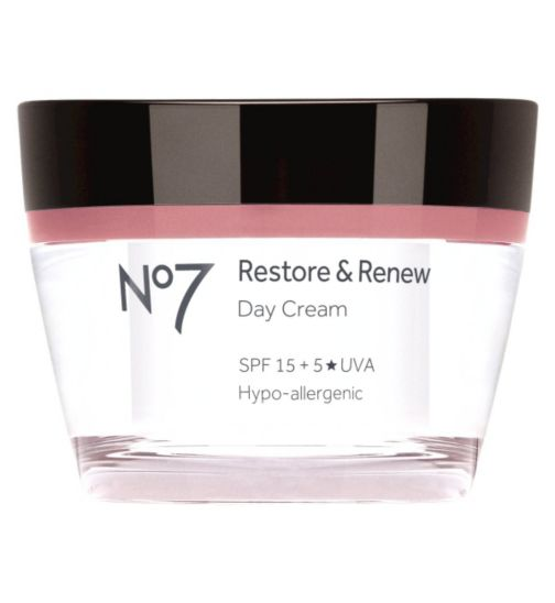 No7 Restore & Renew Day Cream 50ml