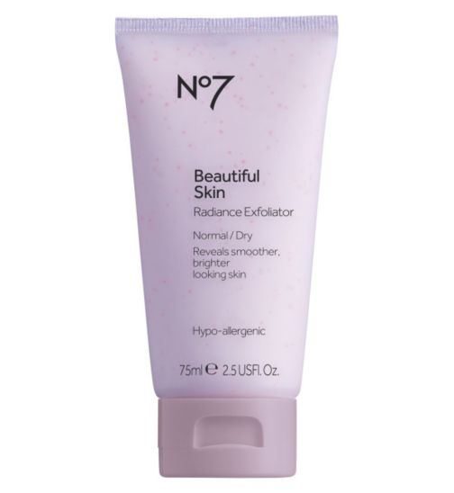 No7 Beautiful Skin Radiance Revealed Exfoliator Normal/Dry 75ml
