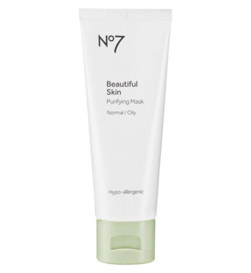 No7 Beautiful Skin Purifying Mask Normal/Oily 75ml