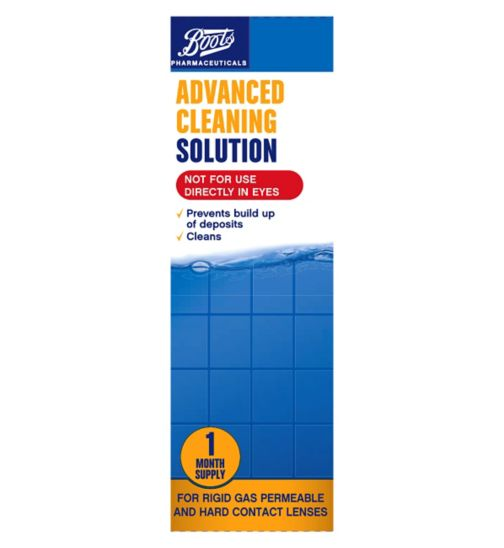 Boots Advanced Cleaning & Conditioning Solution - 30 ml 1 month supply