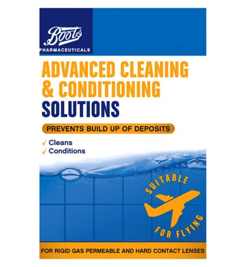Boots Pharmaceuticals Advanced Cleaning & Conditioning Solution Travel Pack