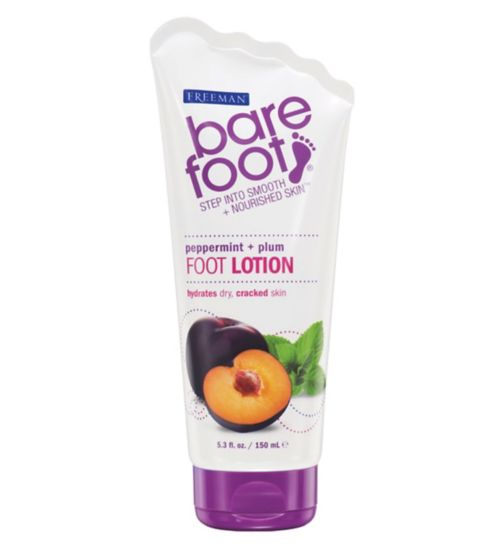 Freeman Bare Foot Peppermint + Plum Foot Lotion - 150 ml