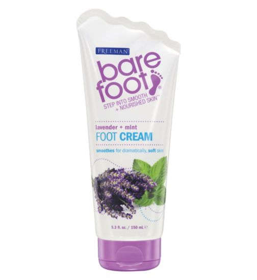 Freeman Bare Foot Lavender + Mint Foot Cream - 150 ml