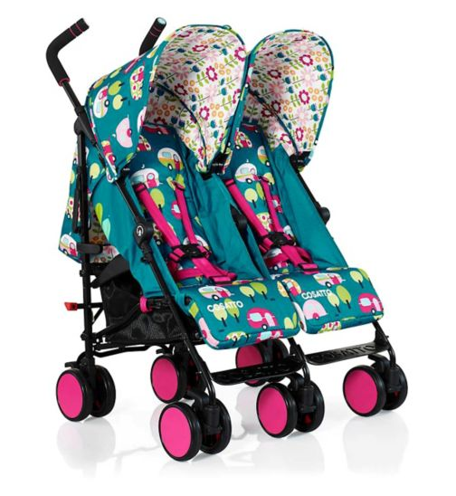 Cosatto Supa Dupa Go Double Stroller - Happy Campers