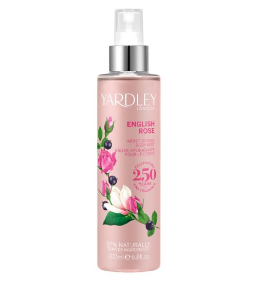 Yardley English Rose Fragrance Mist 200ml