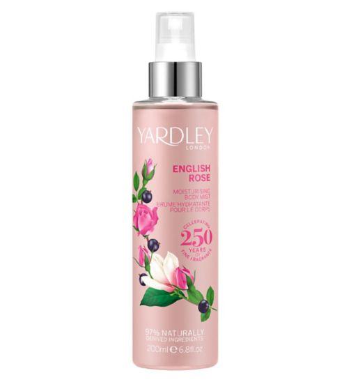 Yardley English Rose Fragrance Mist 200ml
