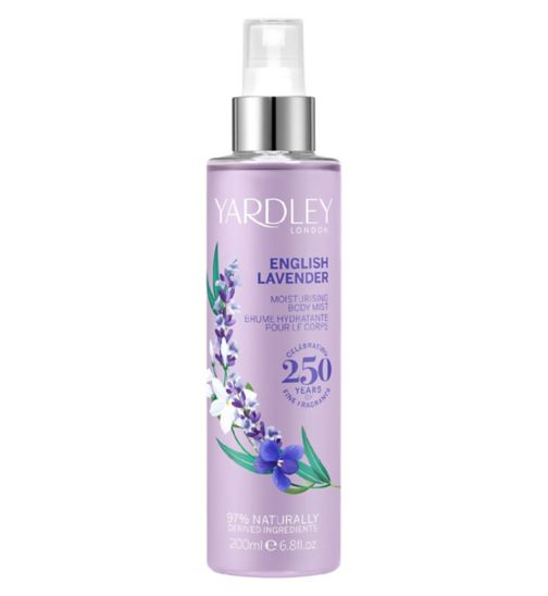 Yardley English Lavender Fragrance Mist 200ml