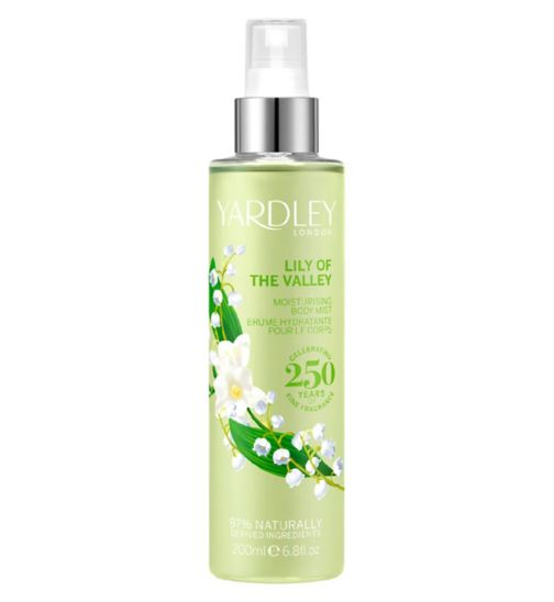 Yardley Lily of the Valley Fragrance Mist 200ml