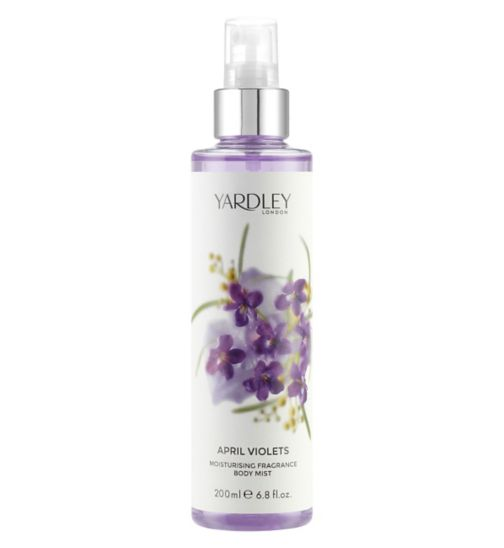 Yardley April Violets Fragrance Mist 200ml