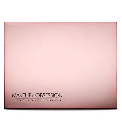 Makeup Obsession Large Palette Luxe Rose Gold Obsession