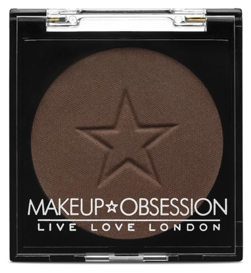Makeup Obsession Eyeshadow E128 Dark Chocolate