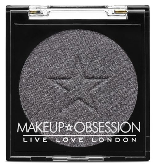 Makeup Obsession Eyeshadow E135 Haute Silver