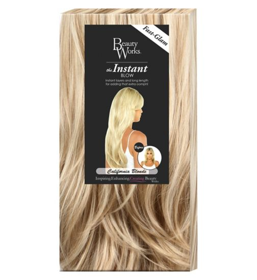 Hair extensions hair accessories hair beauty skincare beauty works the instant blow california blonde pmusecretfo Choice Image