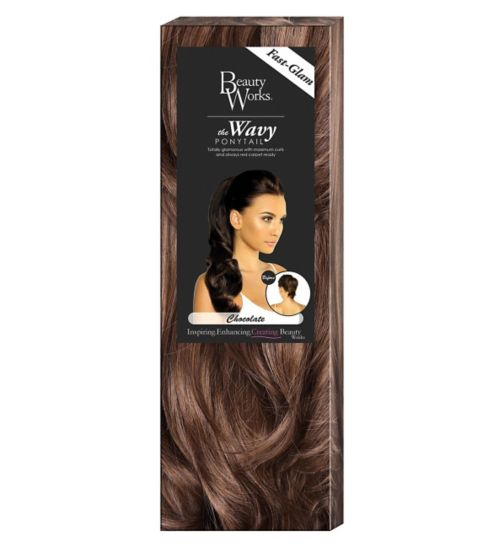 Beauty Works The Wavy Ponytail Chocolate