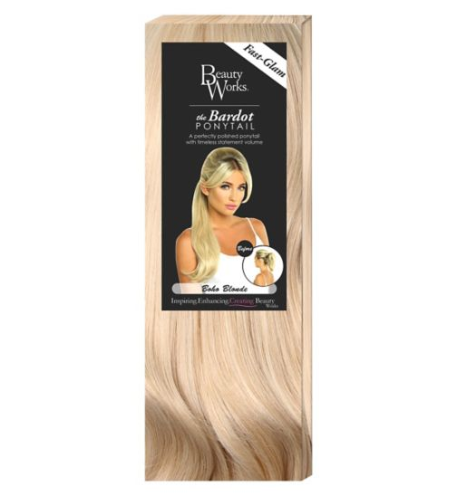 Beauty Works The Bardou Ponytail Boho Blonde