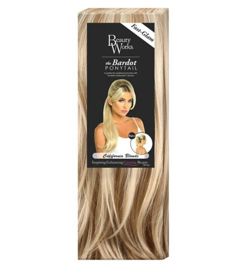 Beauty Works The Bardou Ponytail California Blonde