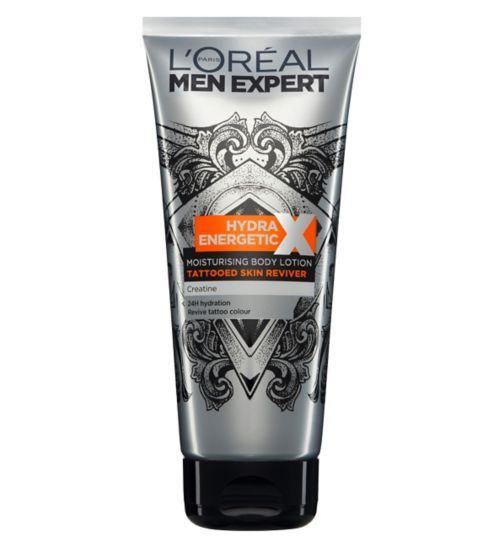 L'Oreal Men Expert Hydra Energetic Tattoo Reviver Lotion 200ml