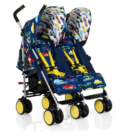 Cosatto Supa Dupa Go Double Stroller - Rev Up