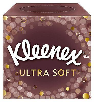 Kleenex Ultra Soft Cube Tissues - Single Box