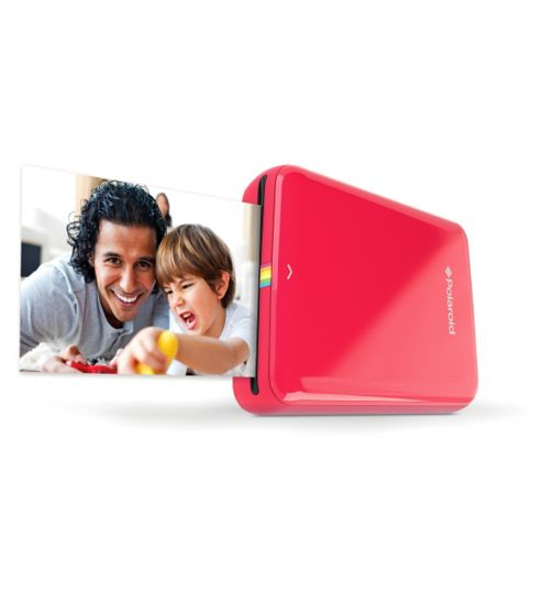 Polaroid Zip Bluetooth Printer Red