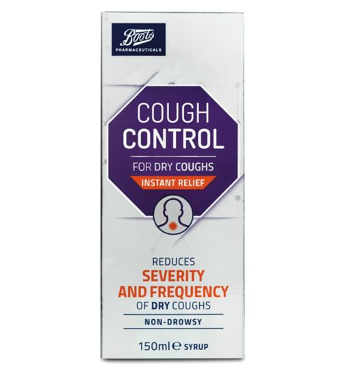 Boots Pharmaceuticals Cough Control 150ml