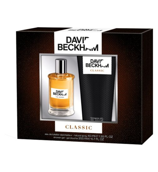 David Beckham Classic 40ml gift set
