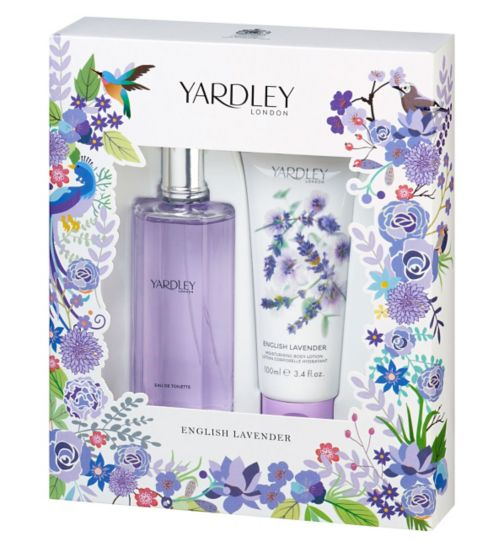 Yardley English Lavender gift set