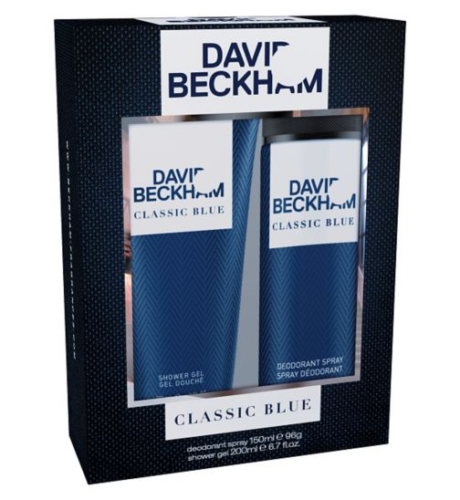 David Beckham Classic Blue Toiletry Gift Set