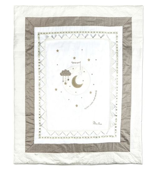 Silver Cross - To The Moon & Back Quilt