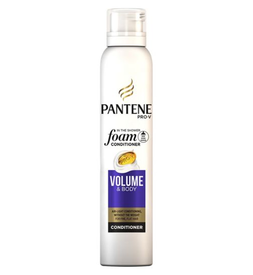 Pantene Pro-V foam conditioner Volume & Body for fine, flat hair