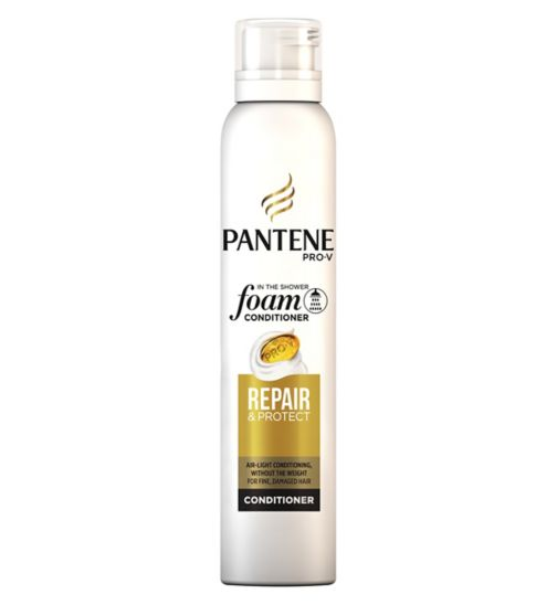 Pantene Pro-V foam conditioner Repair & Protect for fine, damaged hair