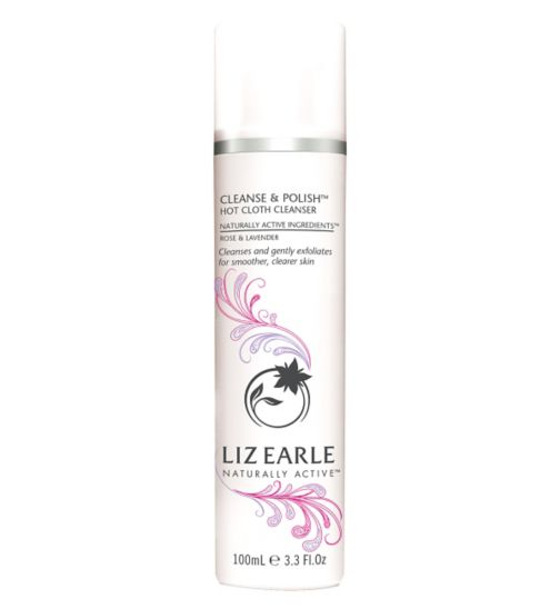 Liz Earle Cleanse & Polish Hot Cloth Cleanser Rose & Lavender