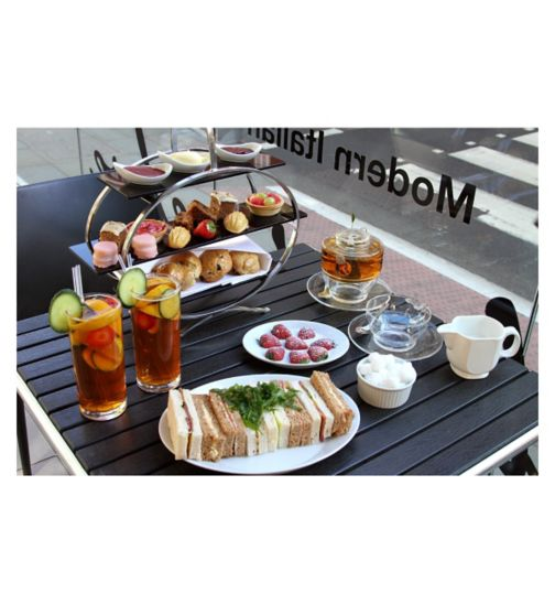 Pimm's Afternoon Tea for Two at the Ambassadors Bloomsbury Hotel, London