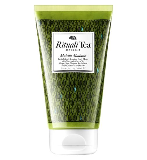 Origins RitualiTea Matcha Madness Revitalising Body Mask 150ml