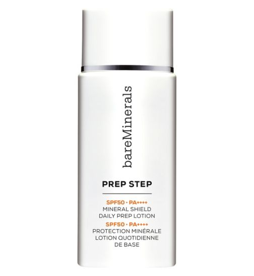 bareMinerals Prep Step SPF 50 PA++++ Mineral Shield Daily Prep Lotion 40ml