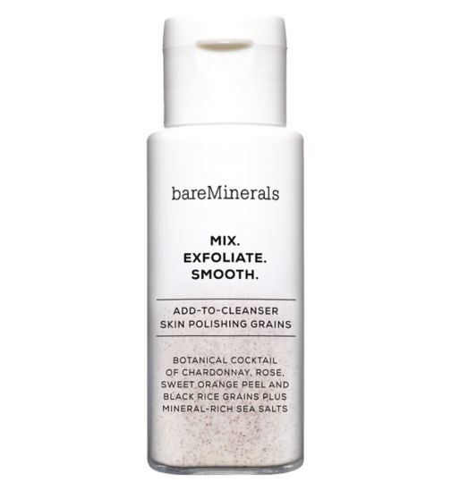 bareMinerals MIX. EXFOLIATE. SMOOTH. Add-to-Cleanser Skin Polishing Grains 25g