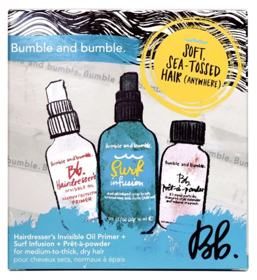 Bumble and bumble soft sea tossed hair travel set