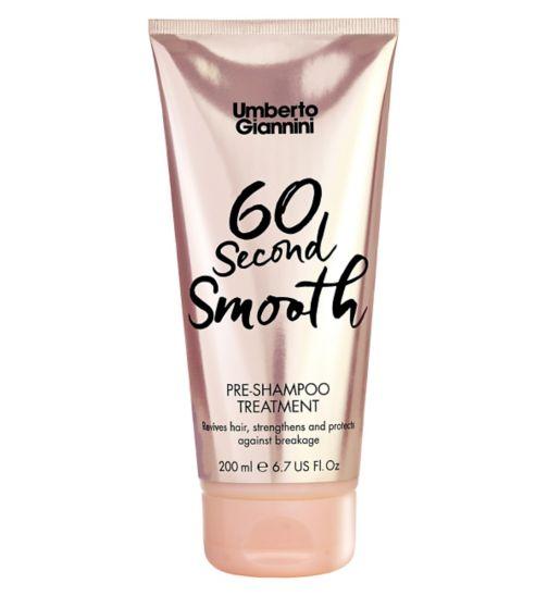 Umberto Giannini 60 Second Smooth Pre- Shampoo Treatment 200ml