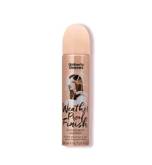 Umberto Giannini Weather Proof Finish Anti- Humidity Hairspray 200ml