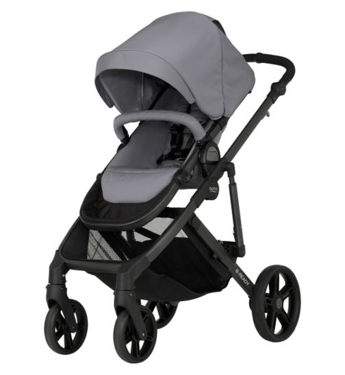 Britax Römer B-READY Pushchair - Steel Grey