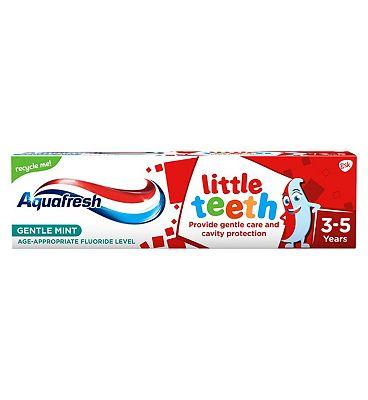 Aquafresh Kids Toothpaste Little Teeth 3-5 Years 75ml