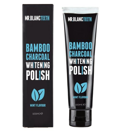 Mr Blanc Bamboo Charcoal Polish 100ml