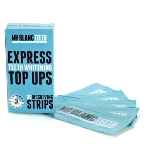 Mr Blanc Express Dissolving Whitening Strips 30's