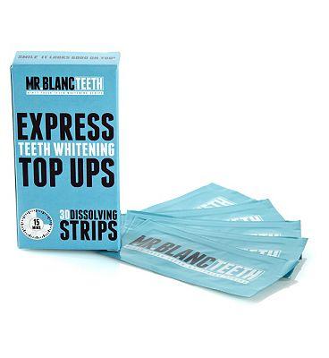 Mr Blanc Express Dissolving Whitening Strips 30's