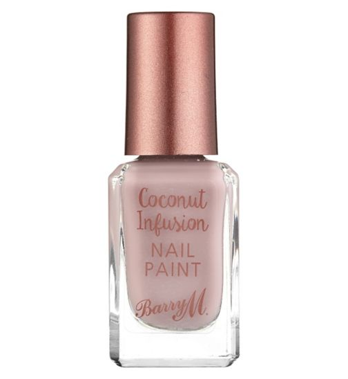 Barry M Coconut Infusion nail paint Paradise