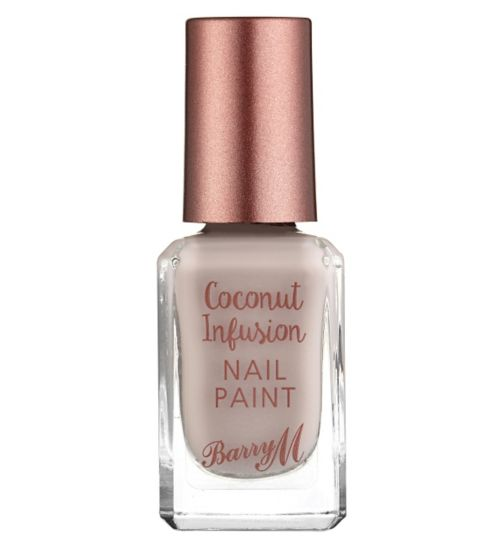 Barry M Coconut Infusion nail paint Oyster