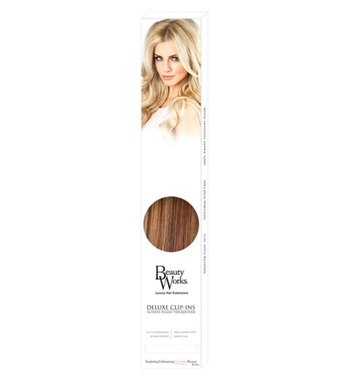 Beauty Works Deluxe Clip-In Extensions - Blondette dece507b33ab