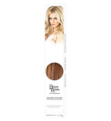 Beauty Works Deluxe Clip-In Extensions - Blondette