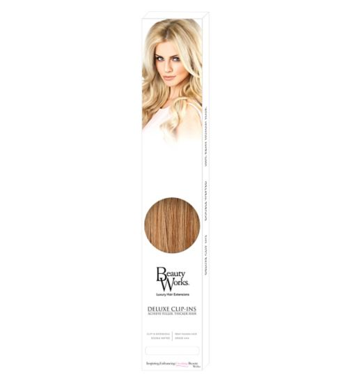 Beauty Works Deluxe Clip-In Extensions - California Blonde
